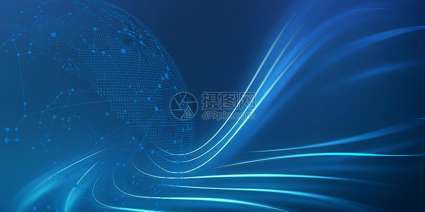 科技背景浅蓝色商务科技高清商务科技商务科技感素材图片商务科技感