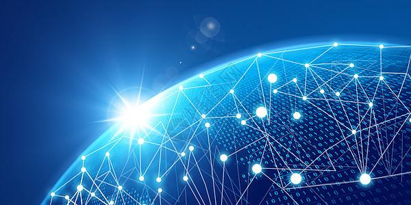 互联网技术数字网络背景图片