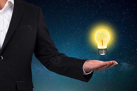 发光数据灯泡图片