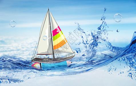 纸船背后的助力图片