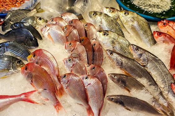 台湾淡水海鲜市场图片
