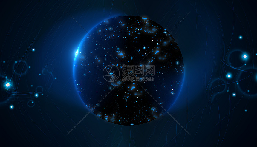 星际智能科技感背景图片