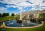 俄罗斯夏宫喷泉图片