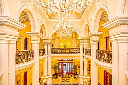 欧式酒店建筑室内空间图片