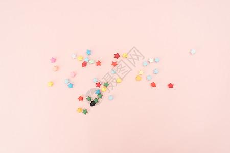 折纸小星星图片