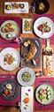 法式精致大餐图片