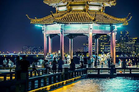 苏州金鸡湖风光图片