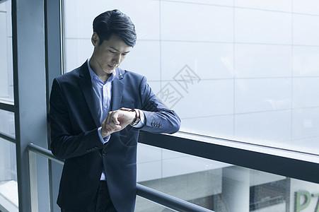成功的商务男士照片图片
