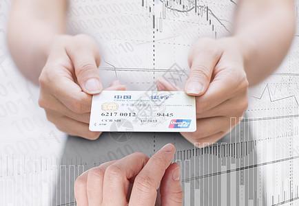 递银行卡图片
