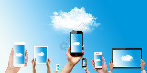 科技云概念图片