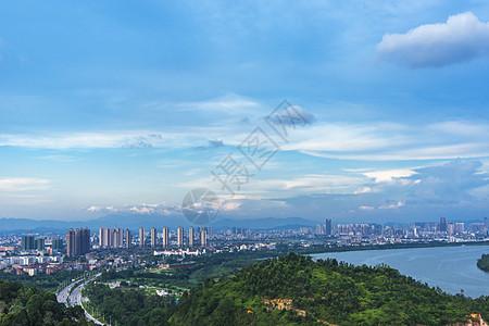 广东惠州城市天际线图片
