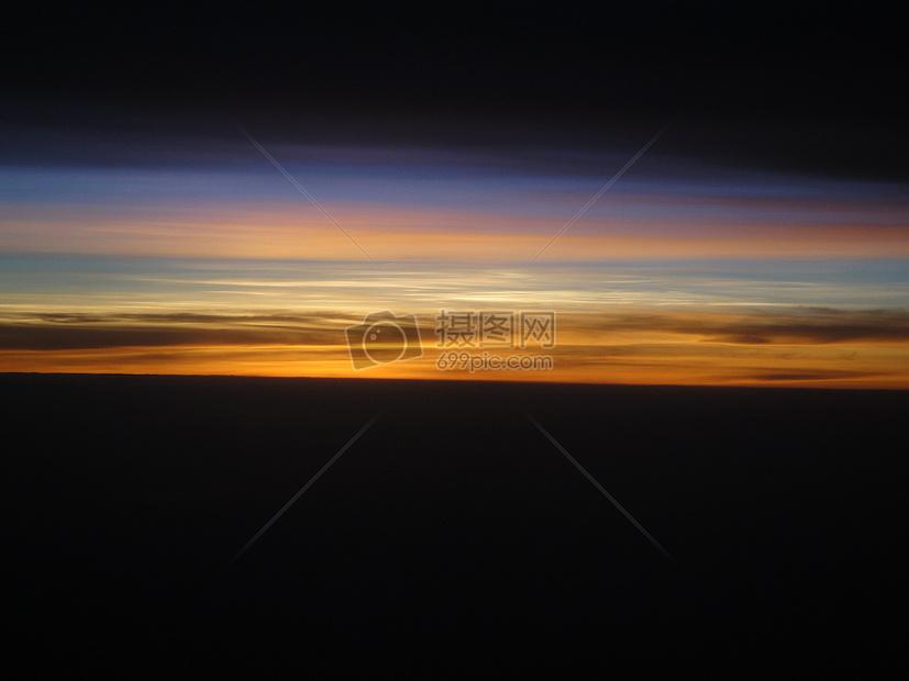 日落天空黄昏晚霞图片