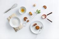 蛋黄月饼制作材料图片