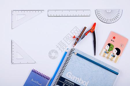 桌上文具设计素材图片