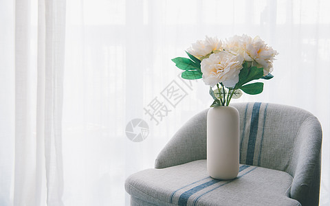 花瓶咖啡摆放图片