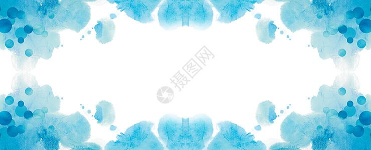 夏日蓝色背景图片