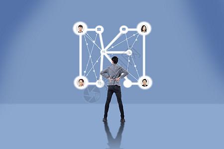 观看网络连接图图片