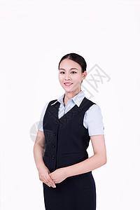 职业美女女性客服形象图片