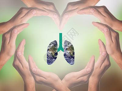 保护肺活动 图片