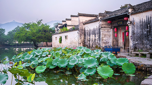 安徽宏村古村落图片