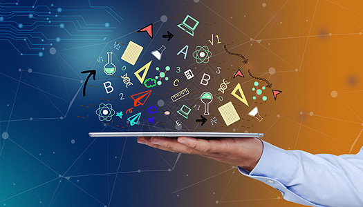 智能设备创意科技图标图片