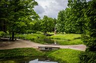 俄罗斯夏宫花园图片