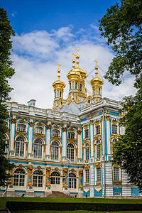 俄罗斯建筑夏宫图片