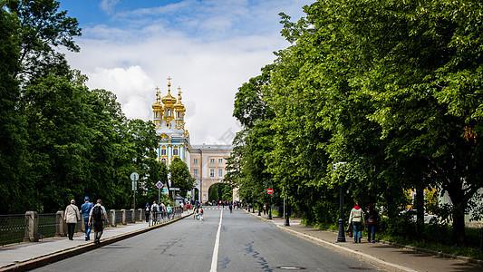 俄罗斯夏宫图片