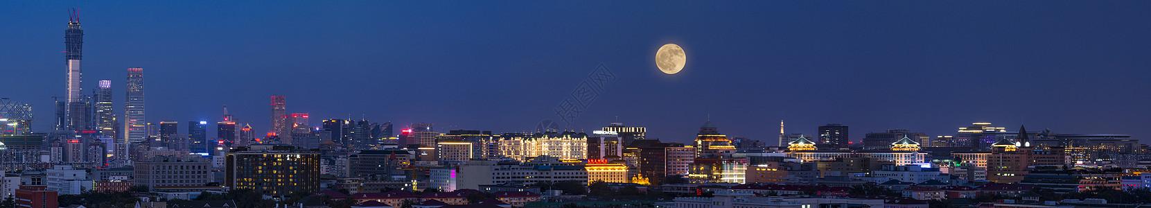 中秋北京图片