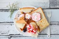 甜品冰激凌下午茶图片