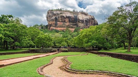 斯里兰卡狮子岩图片