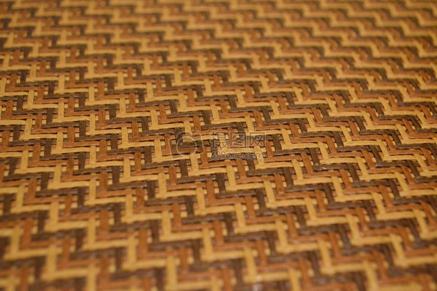 波西米亚竹编条纹图片
