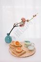 中秋传统美食老月饼图片