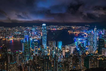 夜香港图片