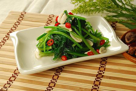 炒菠菜图片