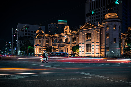 首尔街景图片