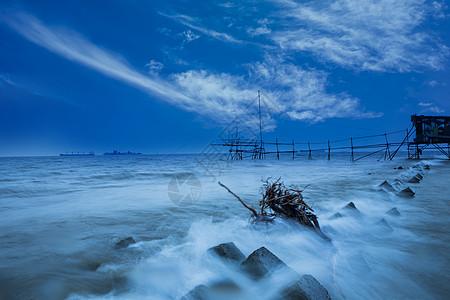 海浪 淘沙图片