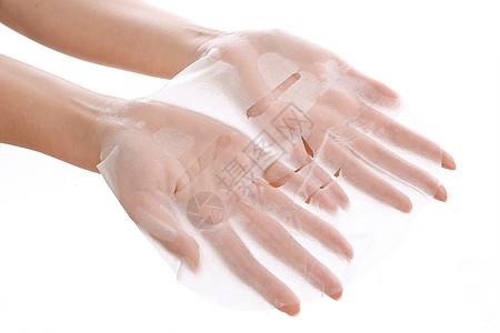 手托面膜图片