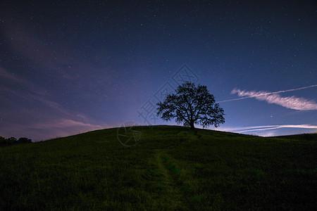 静谧 星夜图片