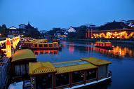 南京秦淮河游船码头图片
