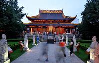 南京孔夫子庙夜景图片
