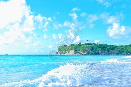 夏天小清新海景图片