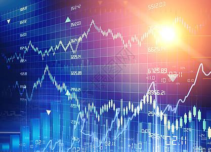 图表股票市场统计指标金融外汇交易图图片