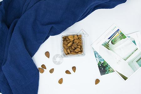 干果食材原料甜杏仁图片