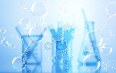 医疗科学实验背景图片