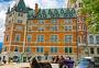 加拿大魁北克城的城堡图片