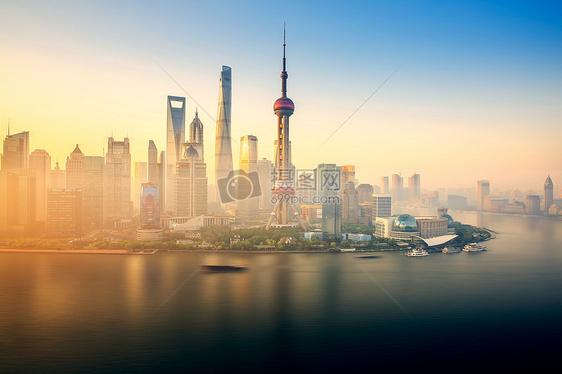 上海陆家嘴东方明珠图片