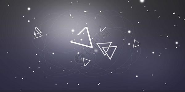 几何科技背景图片