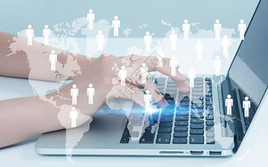 商务网络科技图片