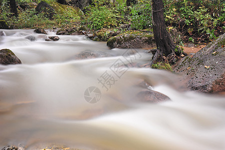 溪水风光素材图片